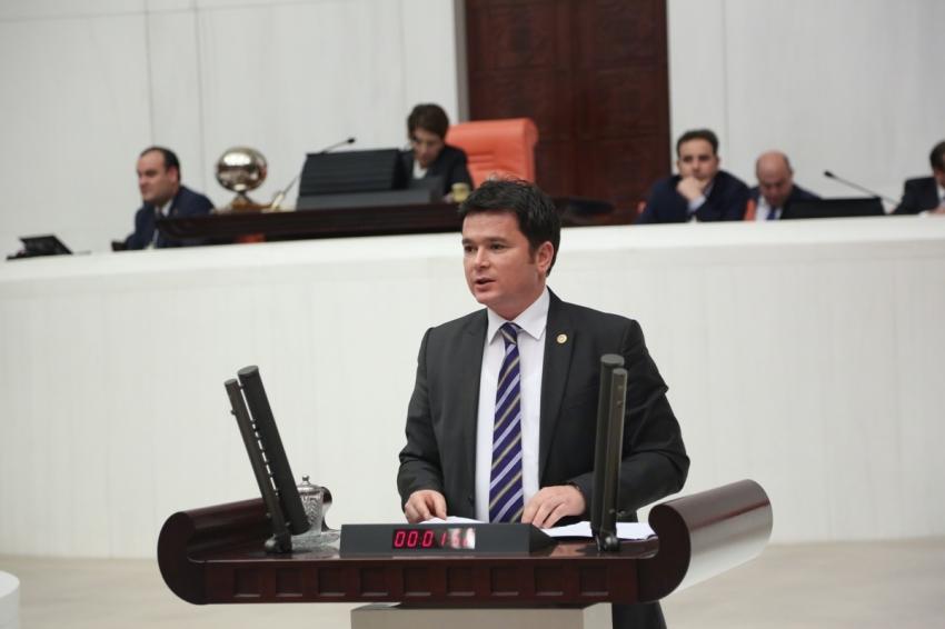 CHP Bursa Milletvekili Erkan Aydın'dan orman yangınları için kanun teklifi