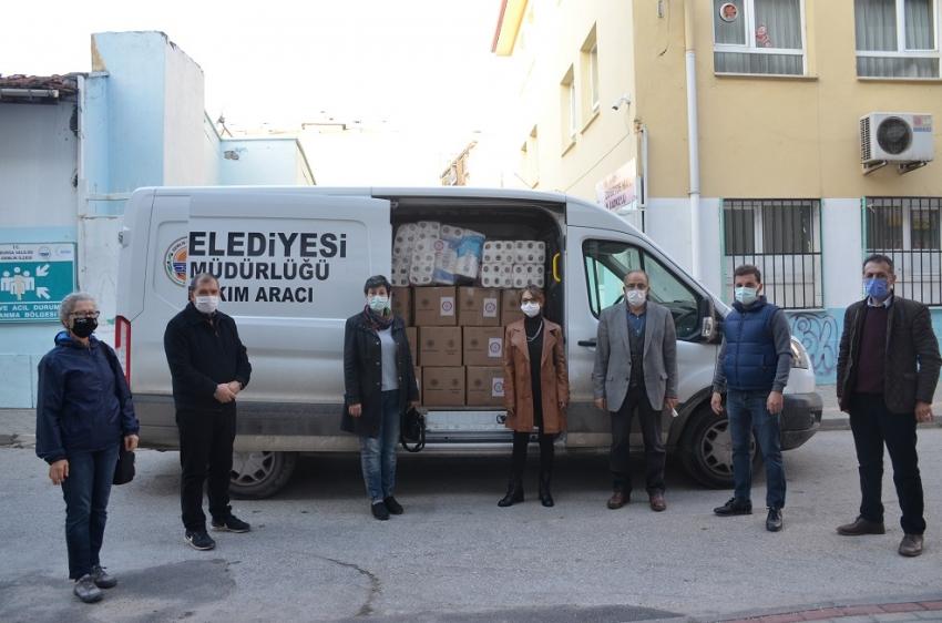 Gemlik'ten İzmir'e yardım eli